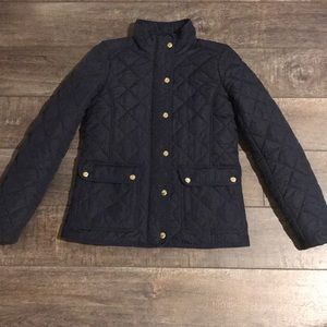 Beautiful jcrew navy coat